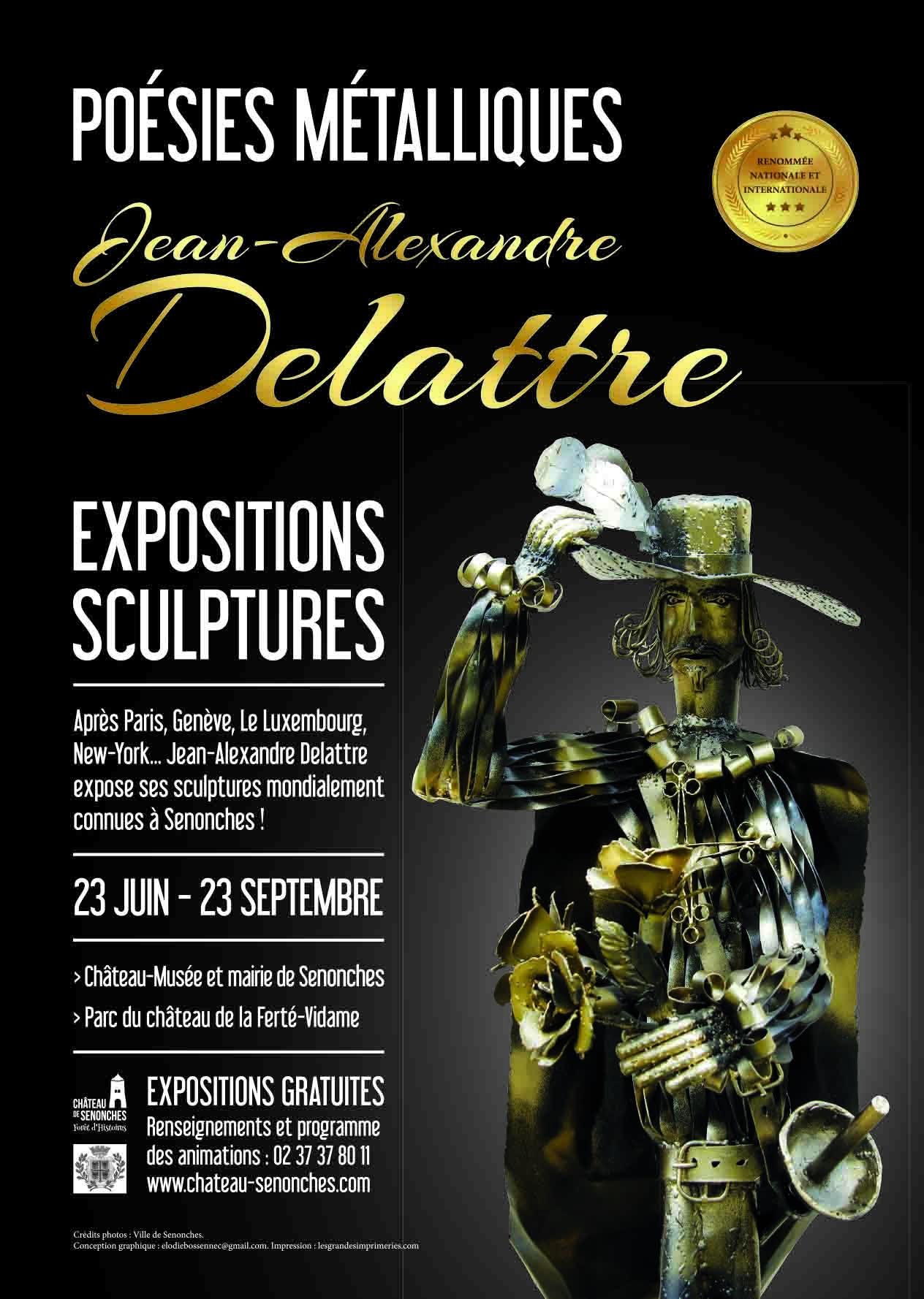 """""""Poésies métalliques"""" Expositions de Sculptures"""
