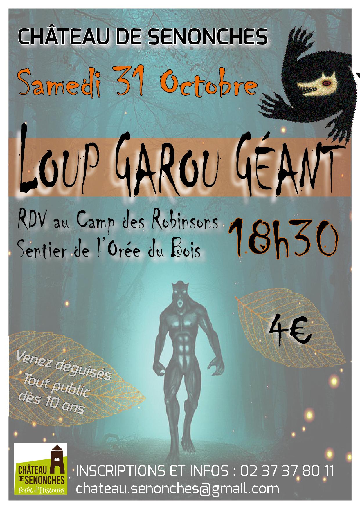 Loup-Garou géant