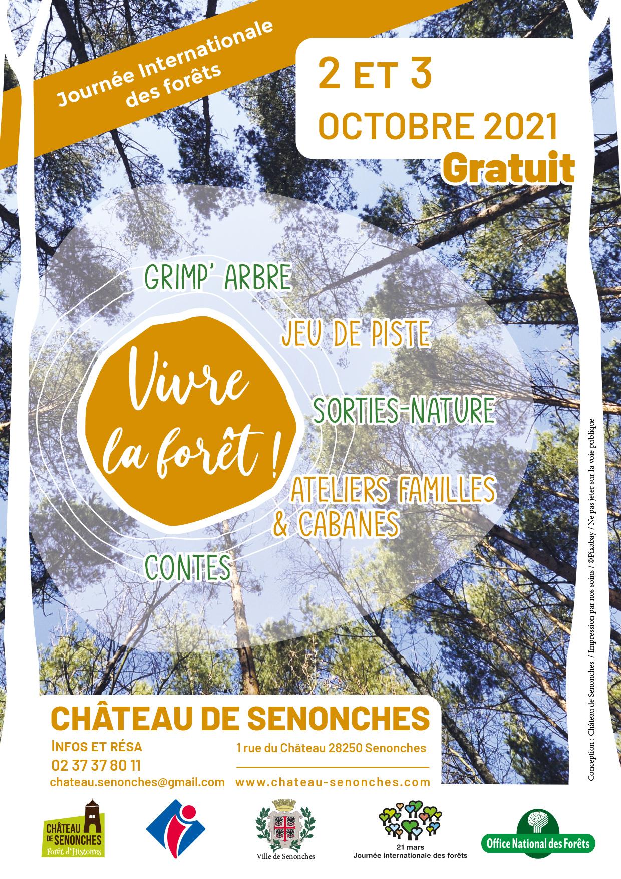 Vivre la Forêt à Senonches !